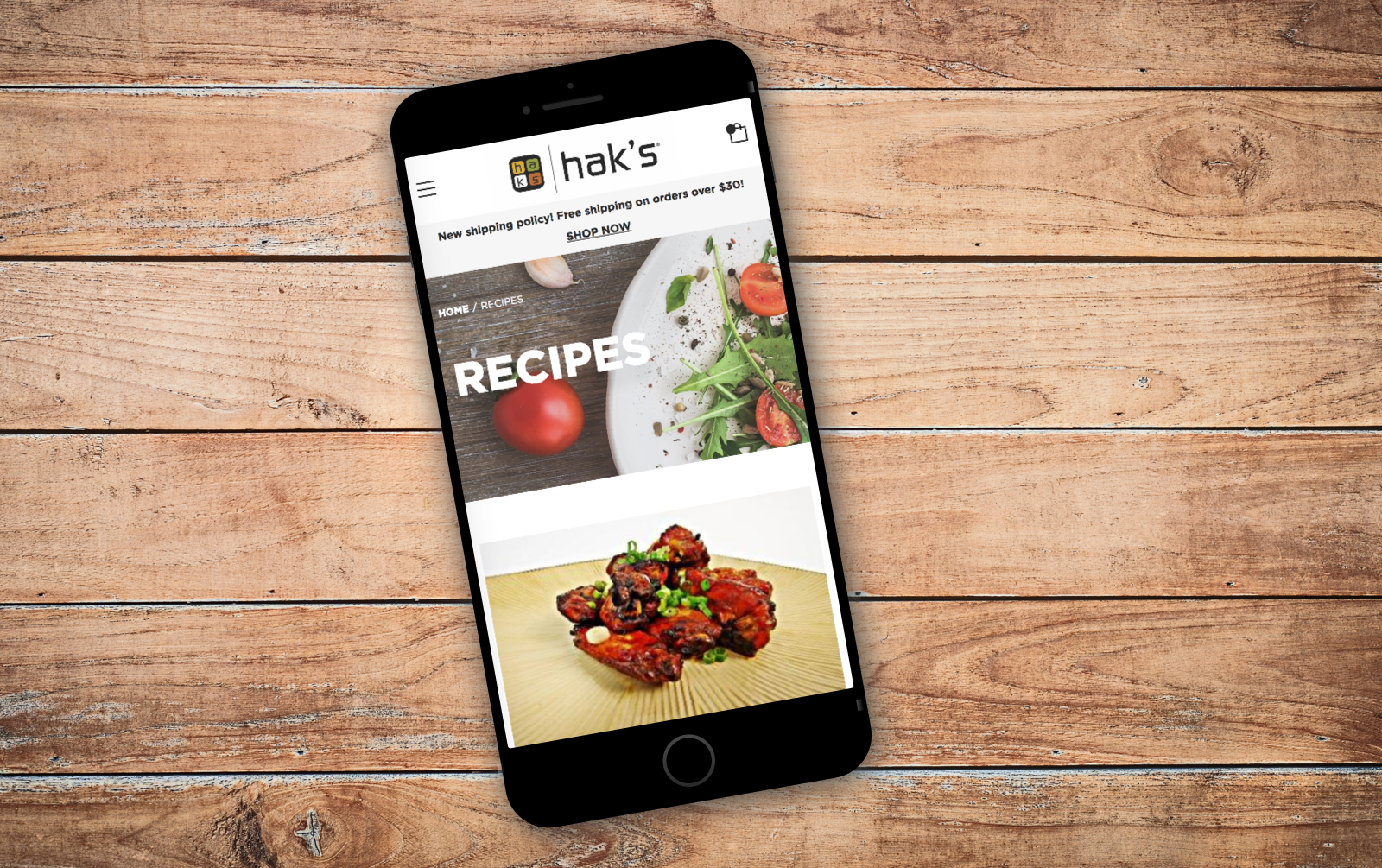 Launch - Haks Food Official Store