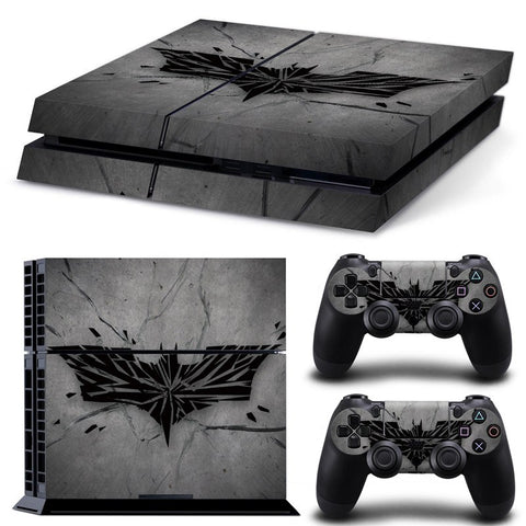 Console Skin Kit - DC BATMAN Logo Sony PS4 Console Skin Kit
