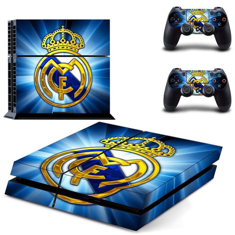 Console Skin Kit - FOOTBALL CLUB Real Madrid Sony PS4 Console Skin Kit