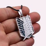 ATTACK ON TITAN Survey Corps Emblem Pendant Necklace