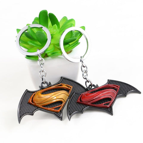Keychain - DC Batman VS Superman Logo Keychain