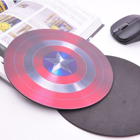 Mouse Pad - MARVEL THE AVENGERS Captain America Logo Shield Mouse Pad