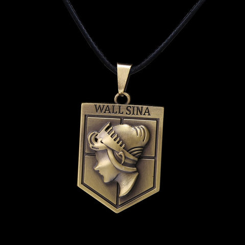 Necklace - ATTACK ON TITAN Wall Sina Pendant Necklace