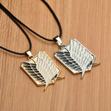 Necklace - ATTACK ON TITANS Survey Corps Emblem Pendant Necklace