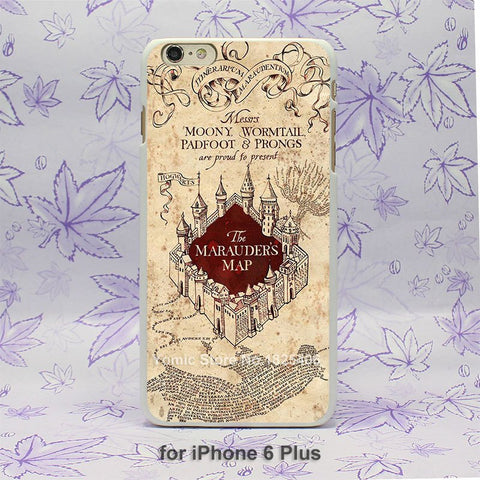 Phone Case - HARRY POTTER Marauders Map IPhone Phone Case