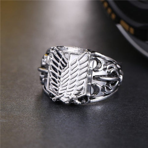 Ring - ATTACK ON TITANS Survey Corps Emblem Ring