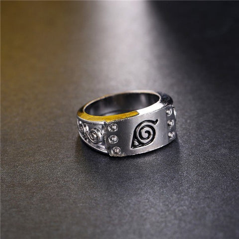 Ring - NARUTO Konoha Headband Ring