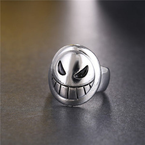 Ring - ONE PIECE Doflamingo Joker Emblem Ring