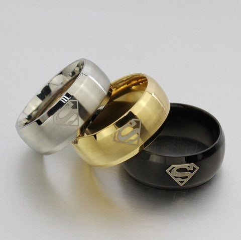Ring - SUPERMAN Logo Ring