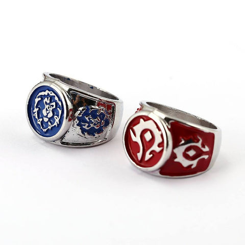 Ring - WORLD OF WARCRAFT The Horde & The Alliance Ring
