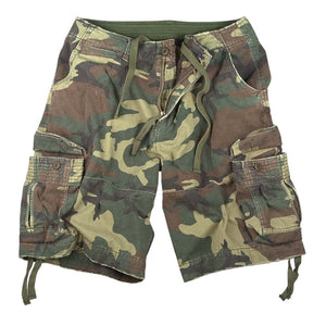 Woodland Camo Cargo Shorts - №365 Outfitters