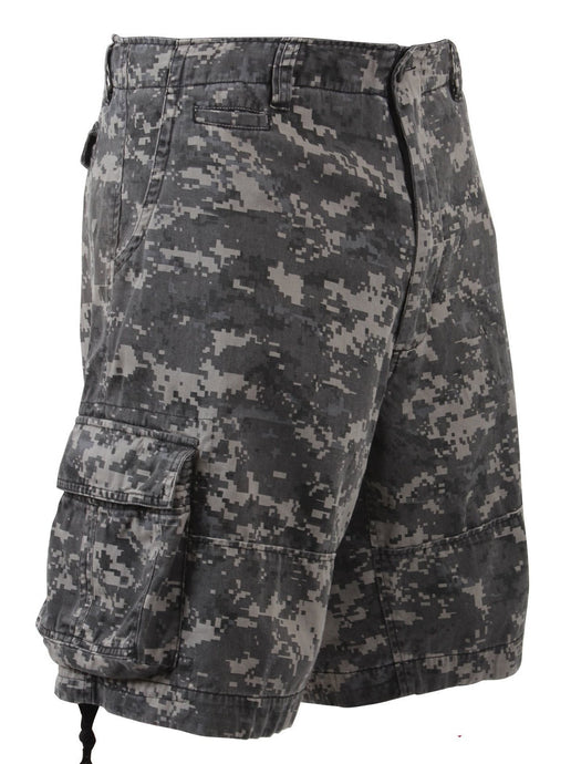 Subdued Urban Camo Cargo Shorts - №365 Outfitters