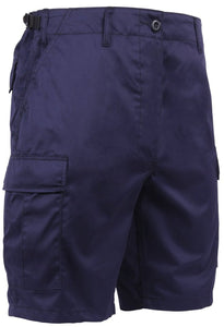 Navy Blue BDU Shorts - №365 Outfitters