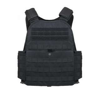 Black MOLLE Plate Carrier Vest
