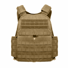 Coyote Brown MOLLE Plate Carrier Vest
