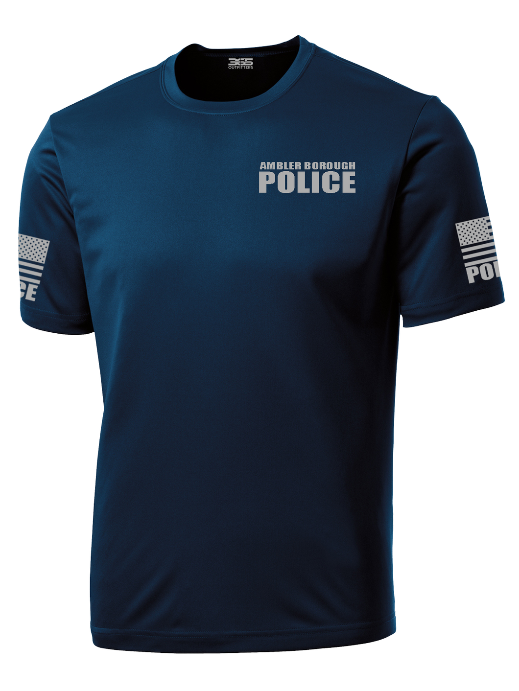 Ambler Borough Police Officer Performance Shirt - №365 Outfitters