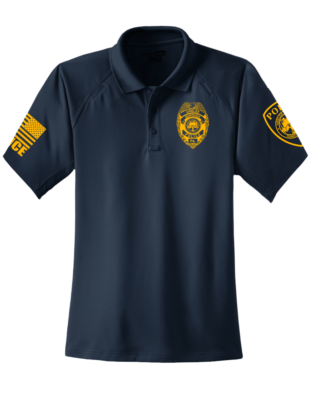 Ambler Borough Police Supervisor Tactical Polo - №365 Outfitters