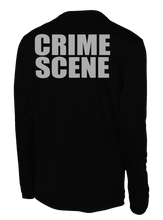 Ormond Beach Police Department Crime Scene Long Sleeve Performance Shirt | Black