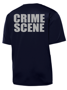 Ormond Beach Police Department Crime Scene Short Sleeve Performance Shirt | Navy