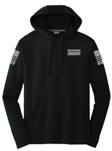 Sheriff Performance Hoodie | Black with Grey Graphics - №365 Outfitters