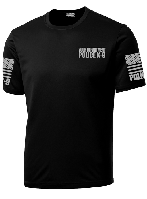 Police Department K-9 Officer Performance Shirt - №365 Outfitters