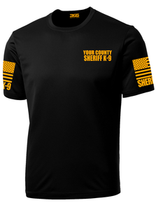 Sheriff's Department K-9 Officer Performance Shirt - №365 Outfitters