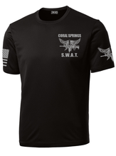 Coral Springs S.W.A.T. Performance Shirt | Black - №365 Outfitters