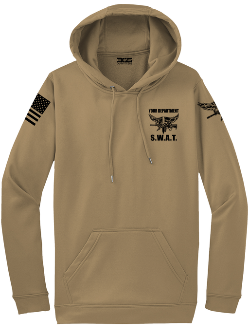Tactical Team Performance Hooded Pullover | Coyote with Black - №365 Outfitters