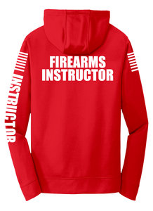 Firearms Instructor Hoodie | Red with White - №365 Outfitters