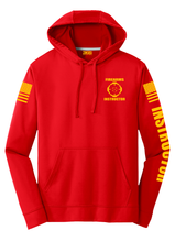 Firearms Instructor Hoodie | Red with Yellow - №365 Outfitters