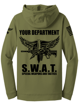Tactical Team Performance Hooded Pullover | Olive Drab with Black - №365 Outfitters