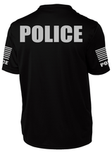 Men's Black Police Performance Shirt - №365 Outfitters