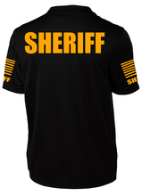 Men's Black Sheriff's Performance Shirt - №365 Outfitters