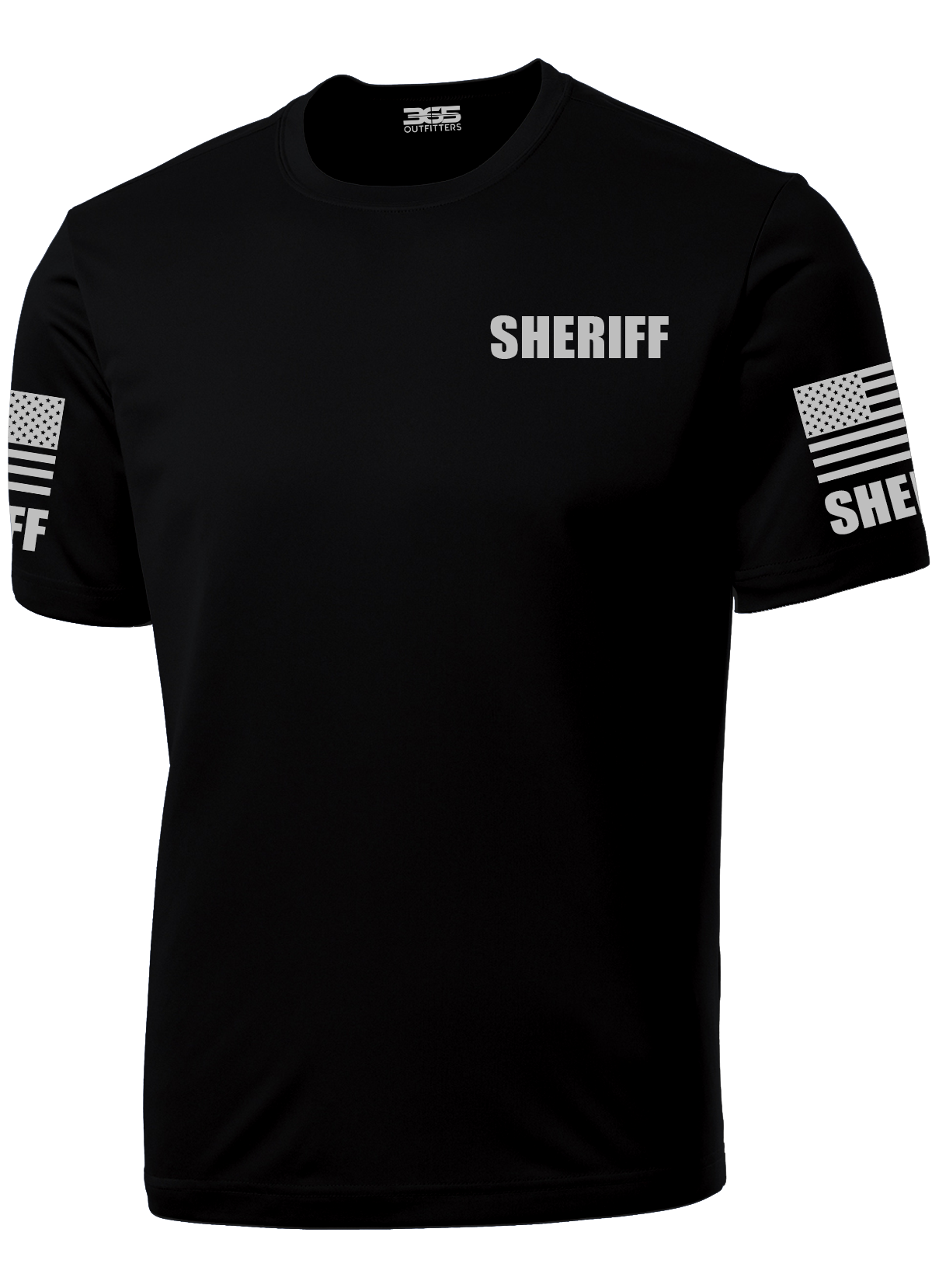 d78df971dd0e ... Men's Black Sheriff's Performance Shirt - №365 Outfitters ...