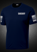 Men's Navy Blue Sheriff's Performance Shirt - №365 Outfitters