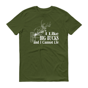 I Like Big Bucks Men's T-Shirt - №365 Outfitters