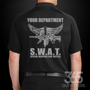 S.W.A.T. Performance Polo Shirt - №365 Outfitters