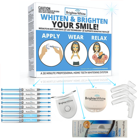 Advanced Value Teeth Whitening Kit + Whitening Pen!