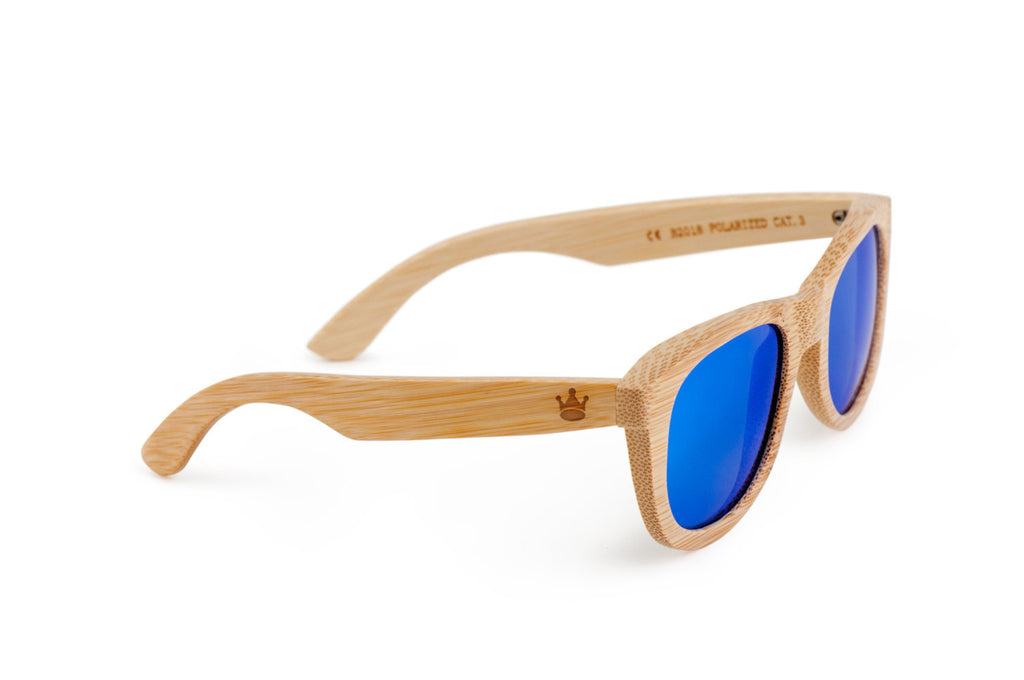 e90a1849bb2 King Crown Wooden Bamboo Sunglasses  King Crown Wooden Bamboo Sunglasses