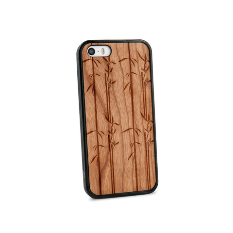 Bamboo Natural Wooden iPhone 5/5S Case in American Cherry Wood