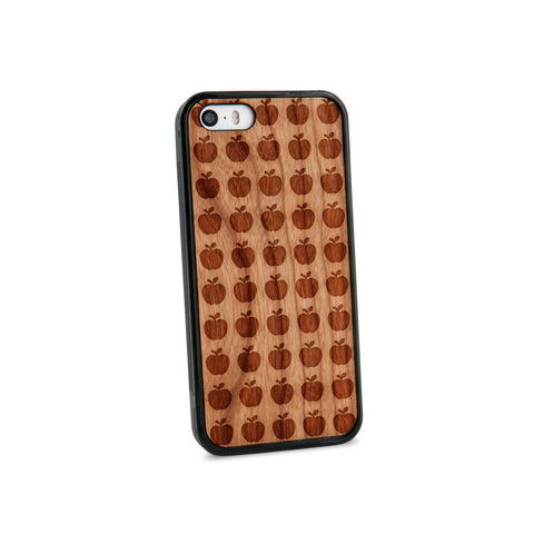 Apples Natural Wooden iPhone 5/5S Case in American Cherry Wood
