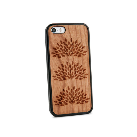 Agave Plant Natural Wooden iPhone 5/5S Case in American Cherry Wood