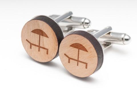 Resort Wood Cufflinks