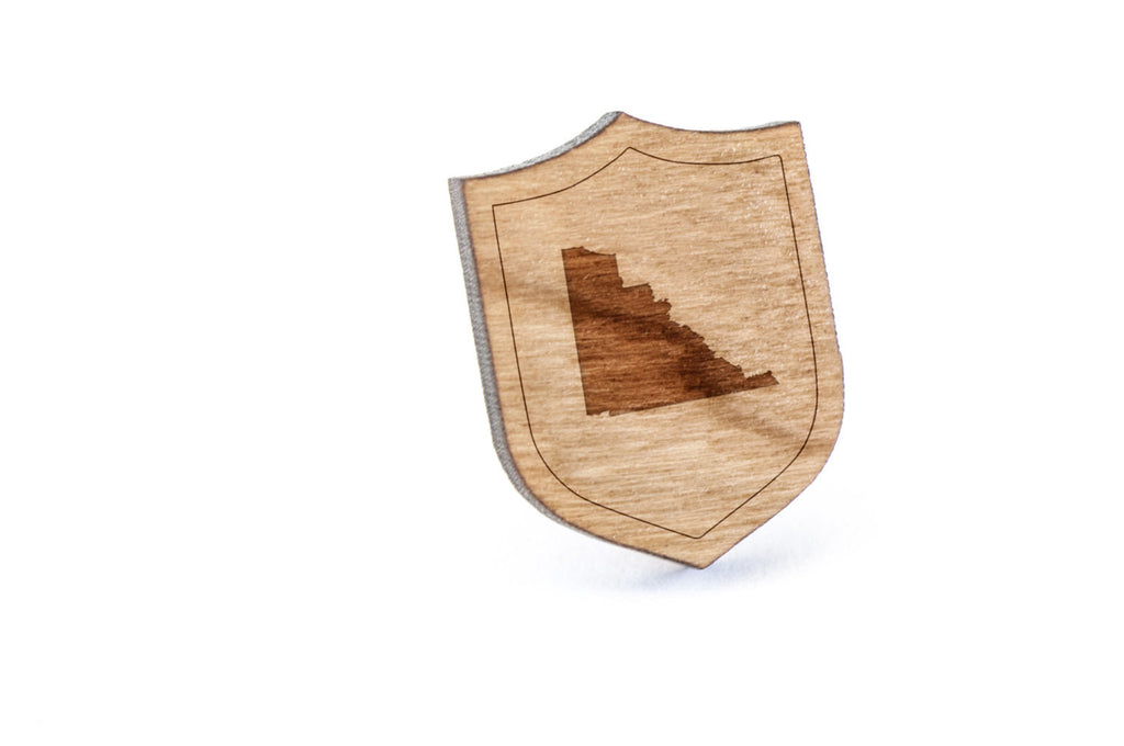 Yukon Wood Lapel Pin