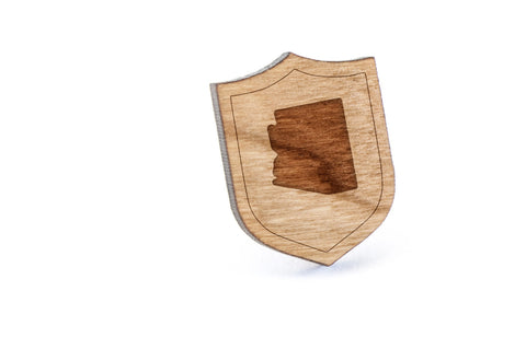 Arizona Wood Lapel Pin