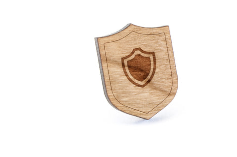 Armor Wood Lapel Pin