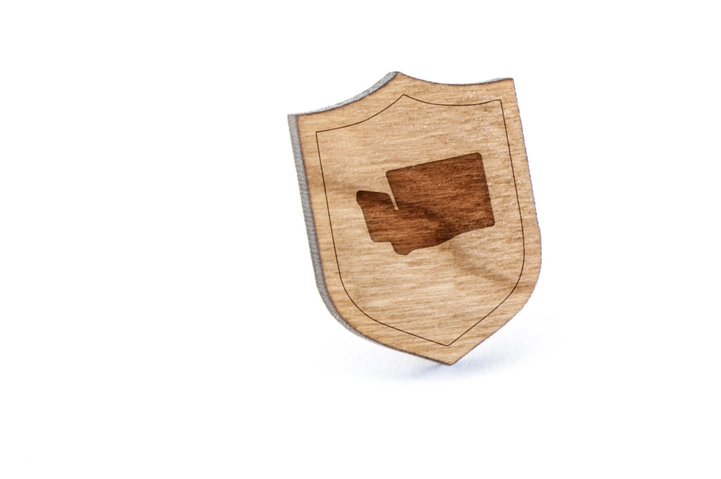 Washington Wood Lapel Pin