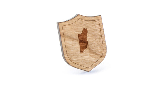 Belize Wood Lapel Pin