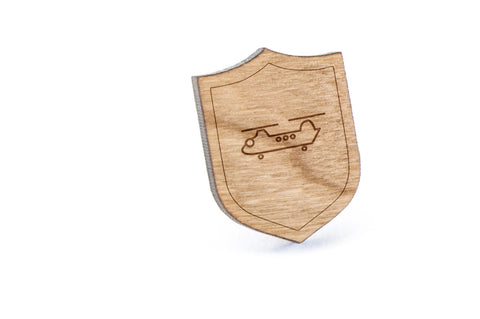 Chinook Wood Lapel Pin