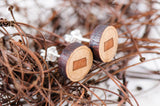 Kansas Wood Earrings